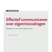 whitepaper Effectief communiceren over eigenrisicodrager