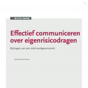 whitepaper Effectief communiceren over eigenrisicodrager